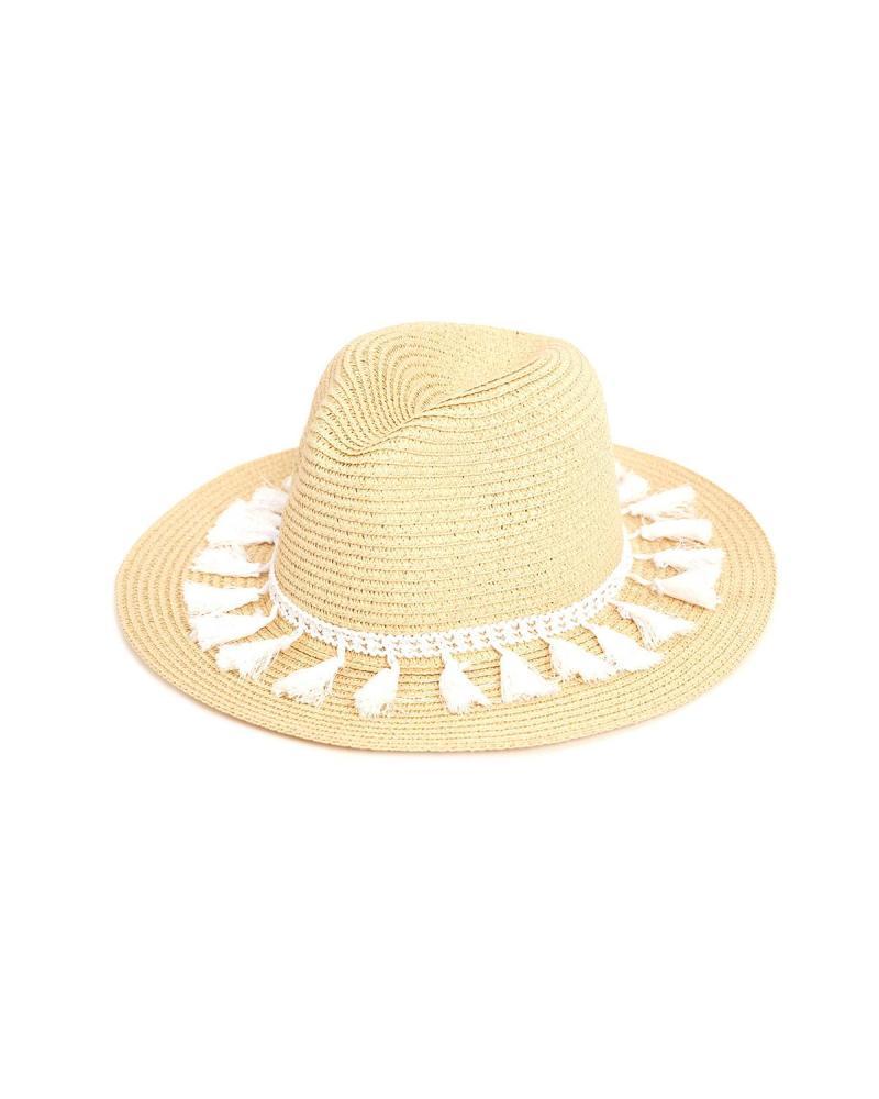 Καπέλο άσπρο
