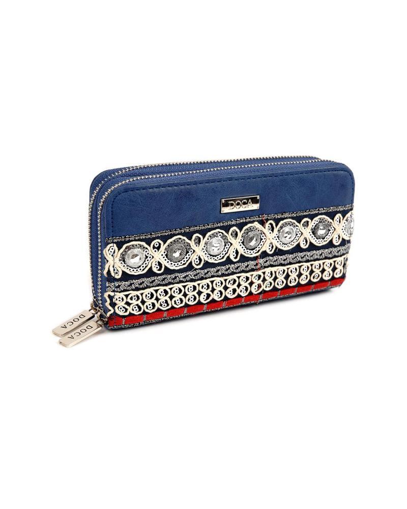 Portemonnaie blau