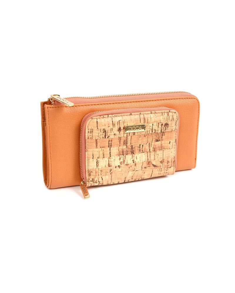 Portemonnaie orange