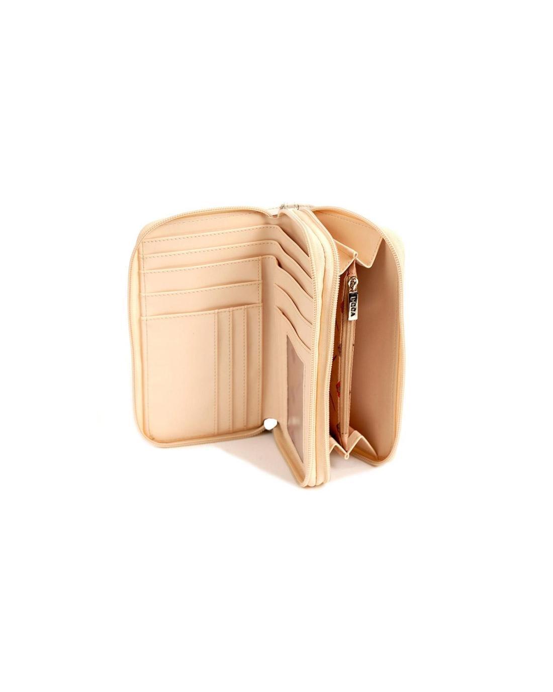 Portemonnaie beige