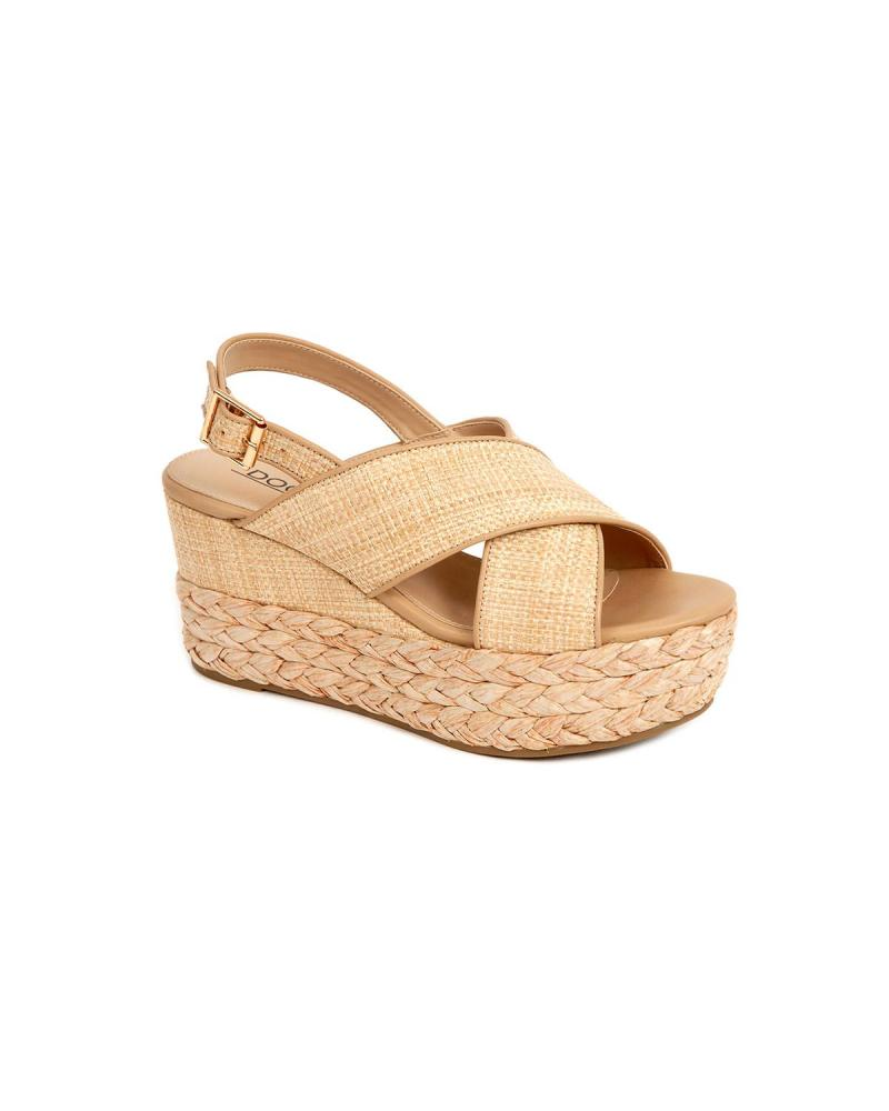 Ecru wedges