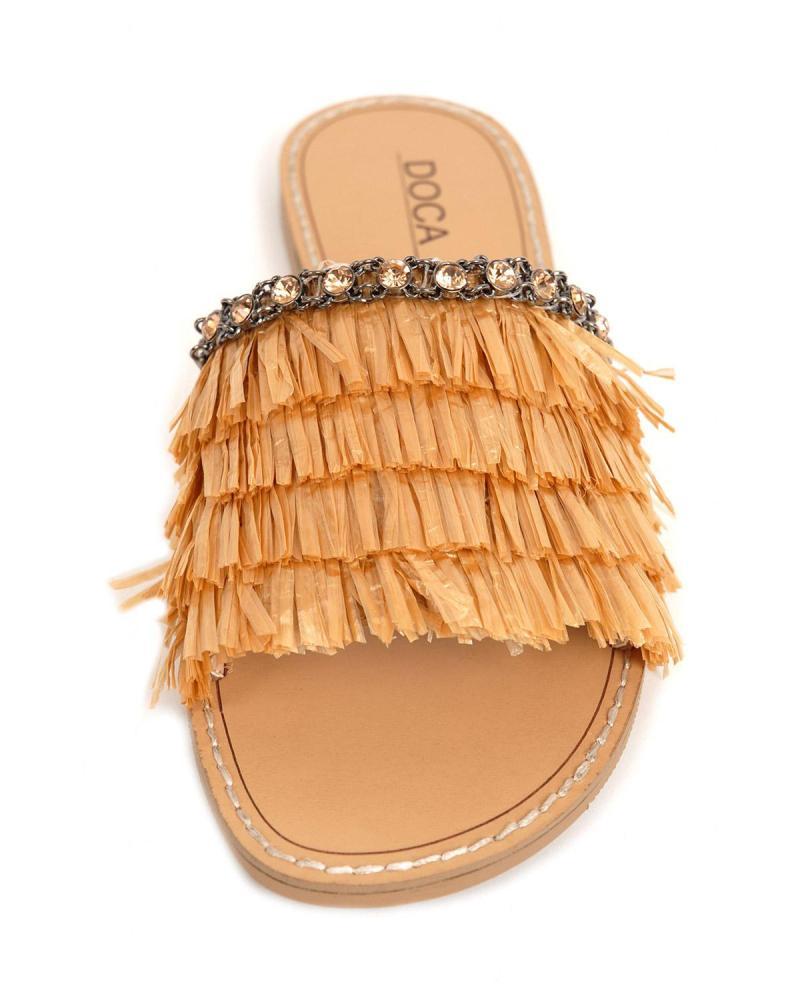 Beige sandals