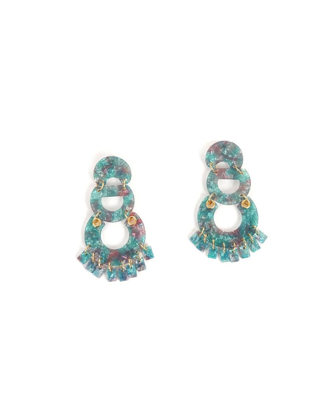 Σκουλαρίκια γαλάζια