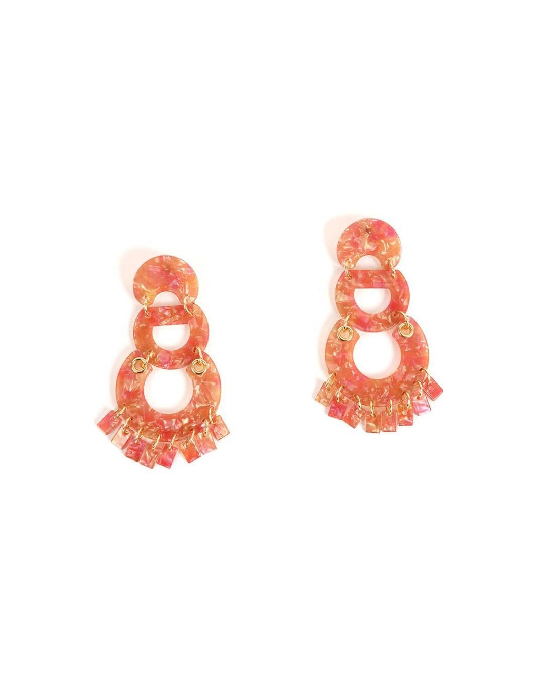 Ohrringe rosa
