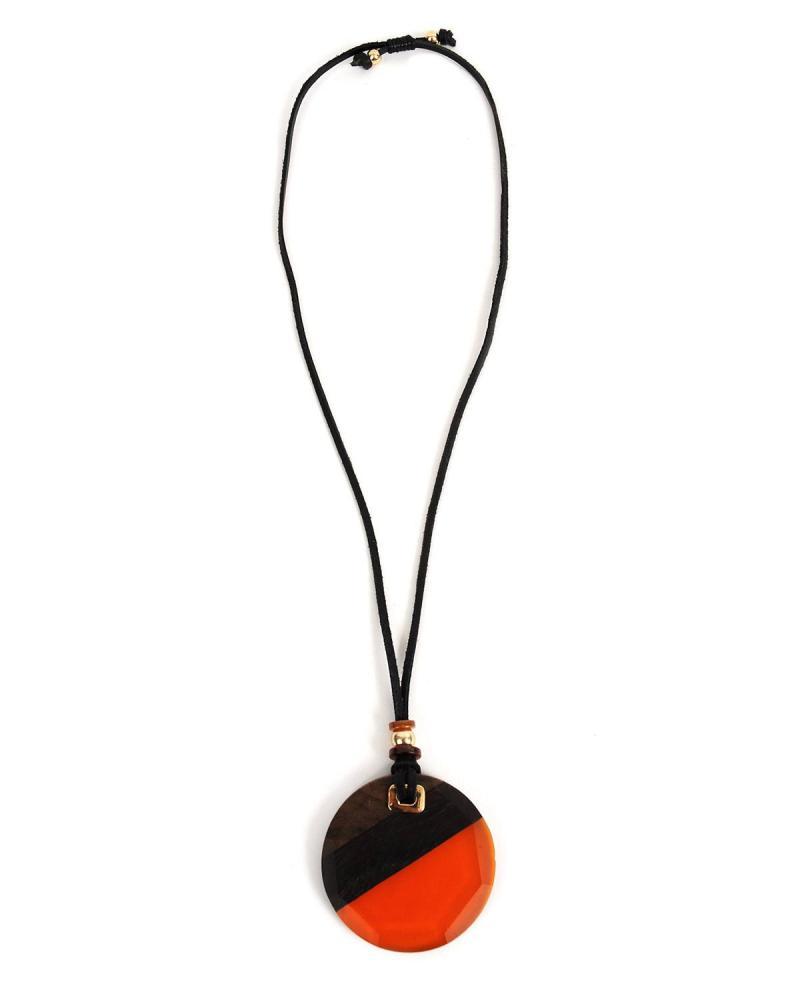 Halskett orange
