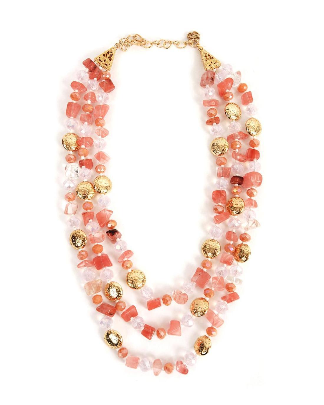 Halskett rosa