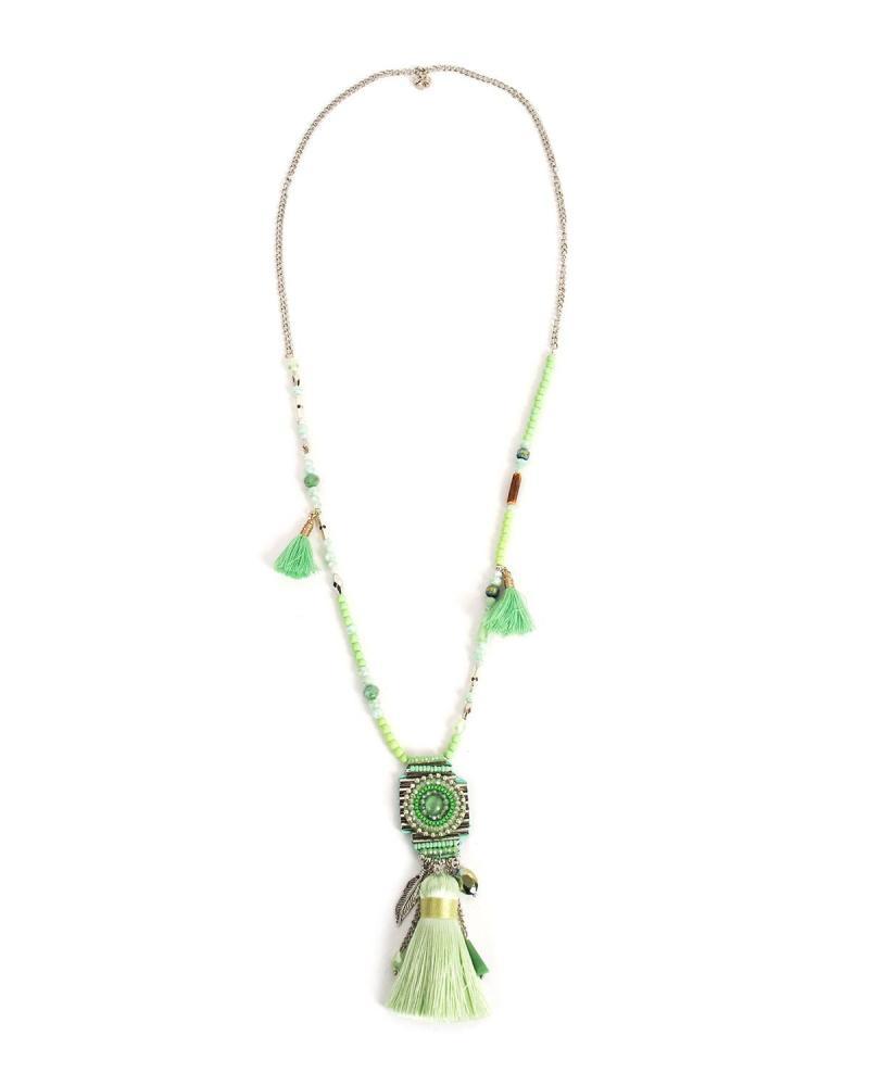 Halskett grün