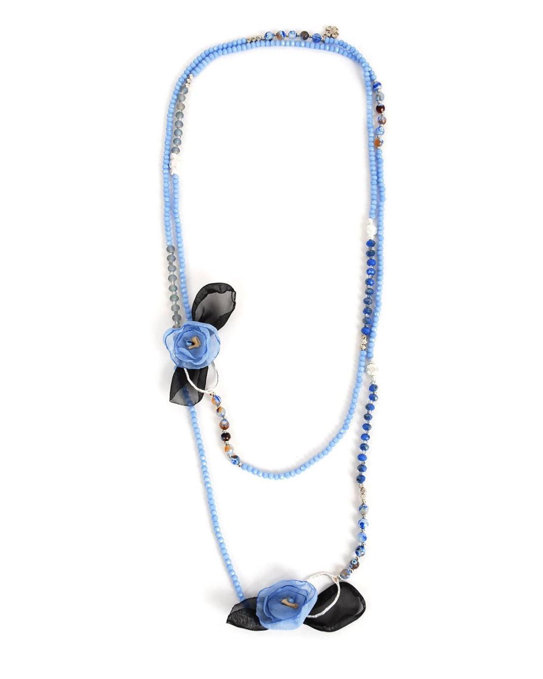 Halskett blau
