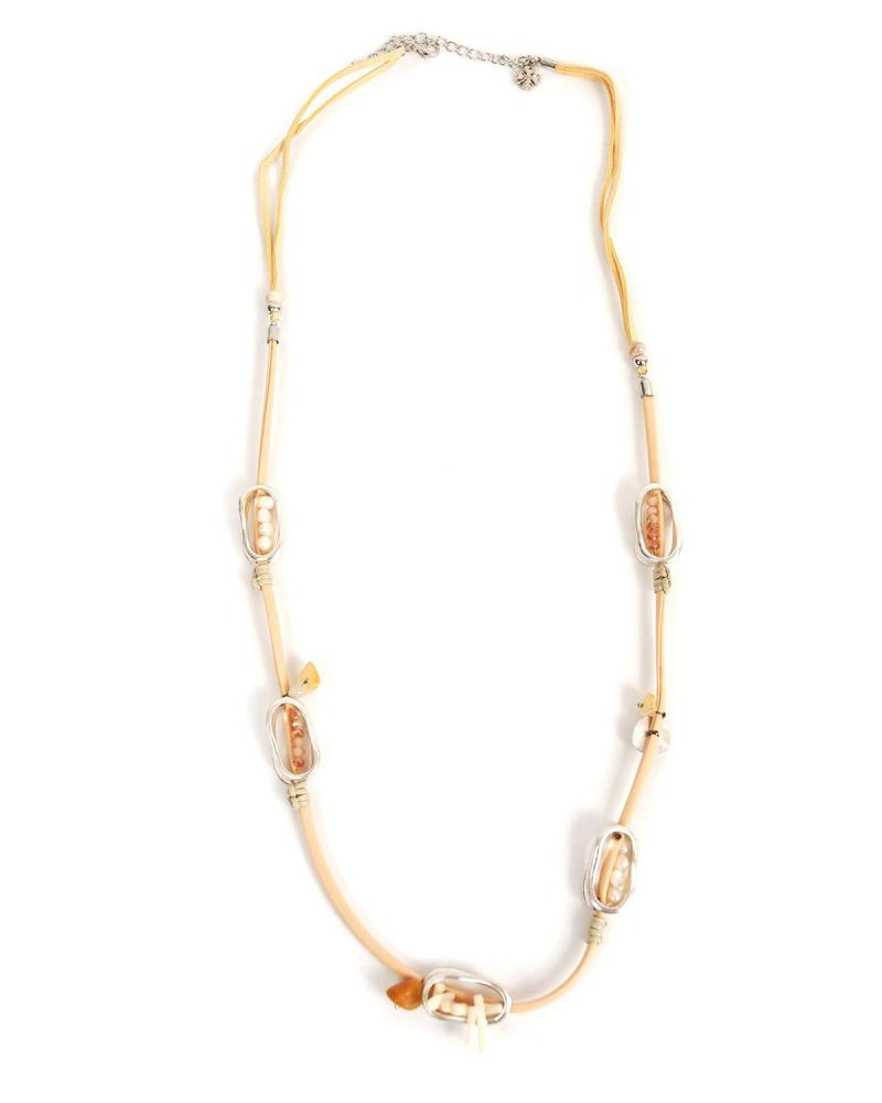 Beige necklace