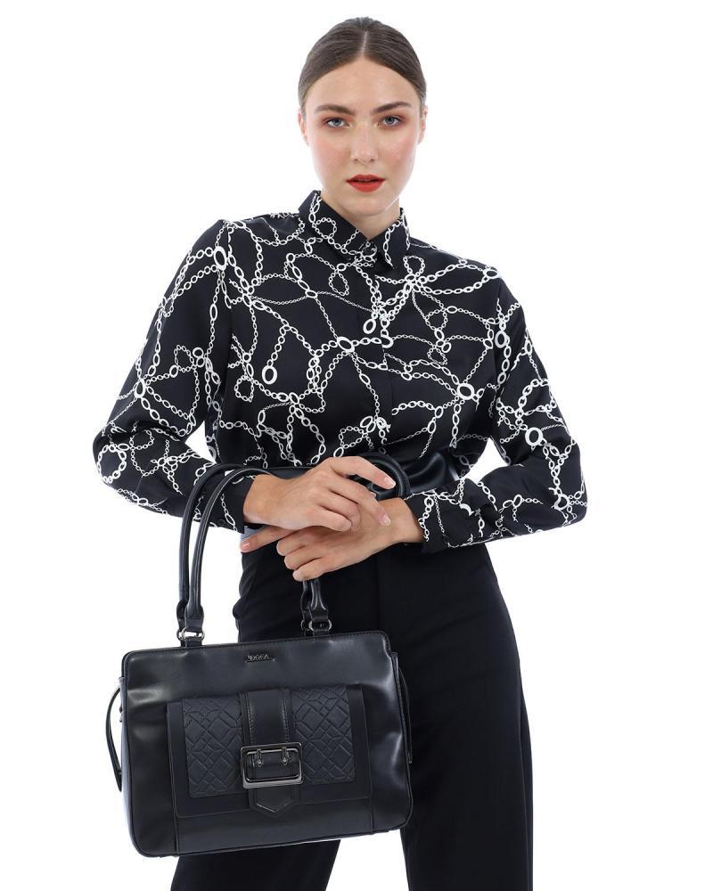 Handtasche bordeaux