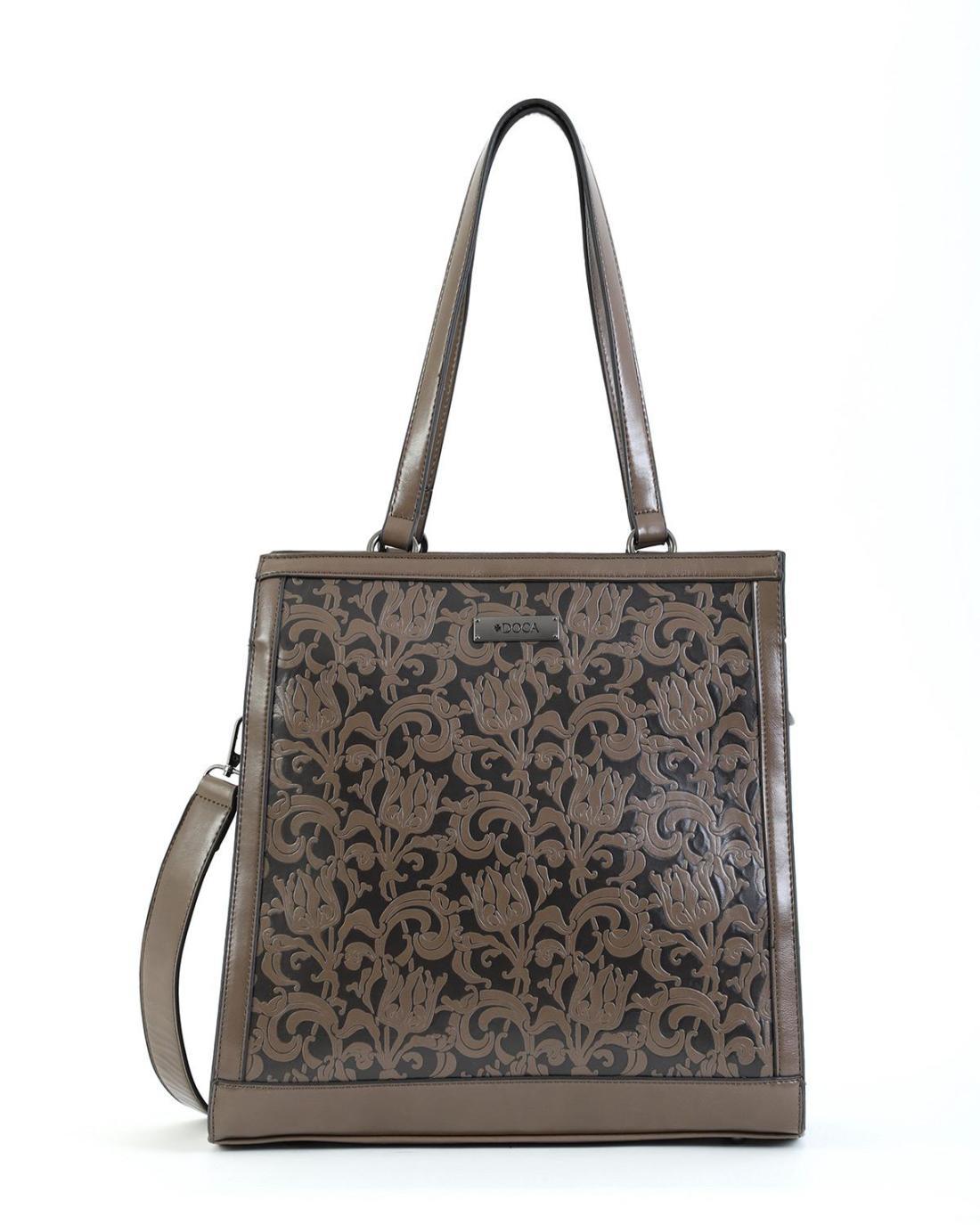Handtasche grau