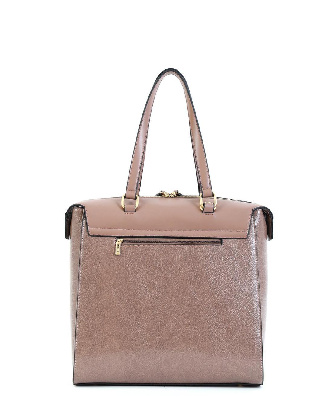 Beige handbag