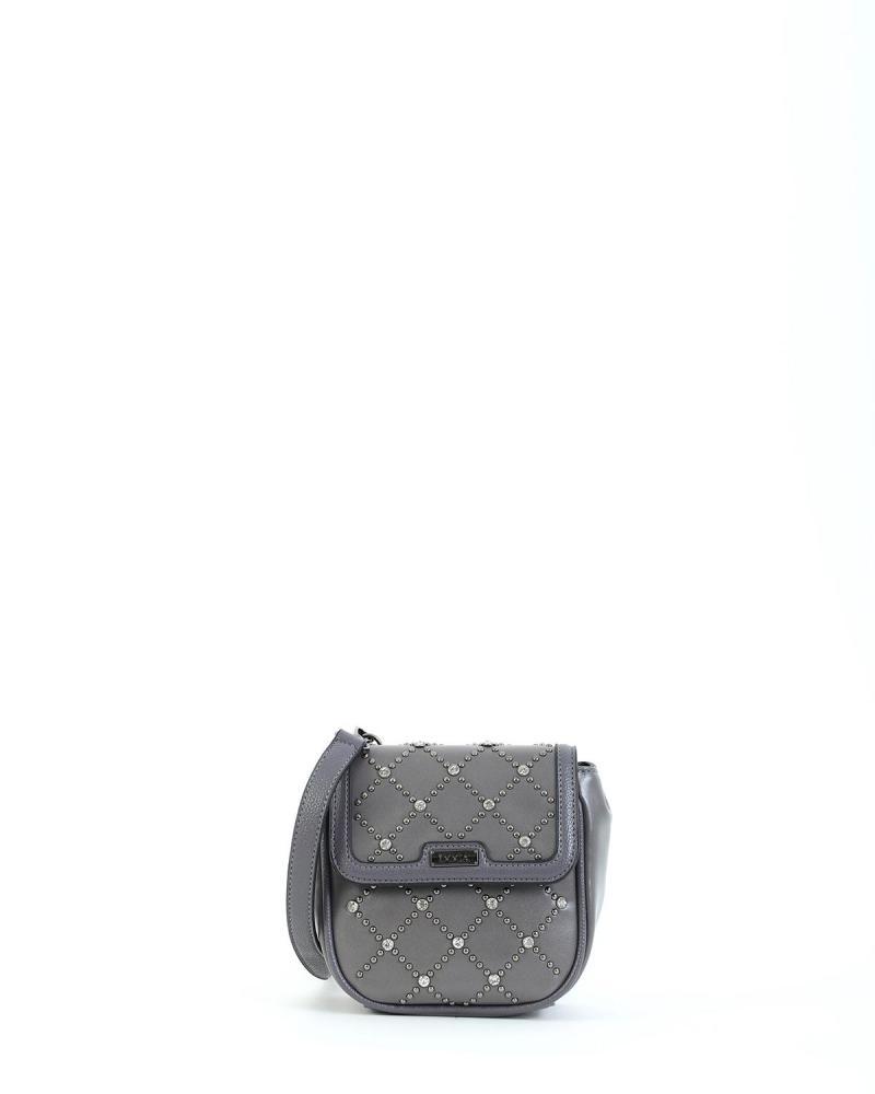 Grey cross body/belt bag