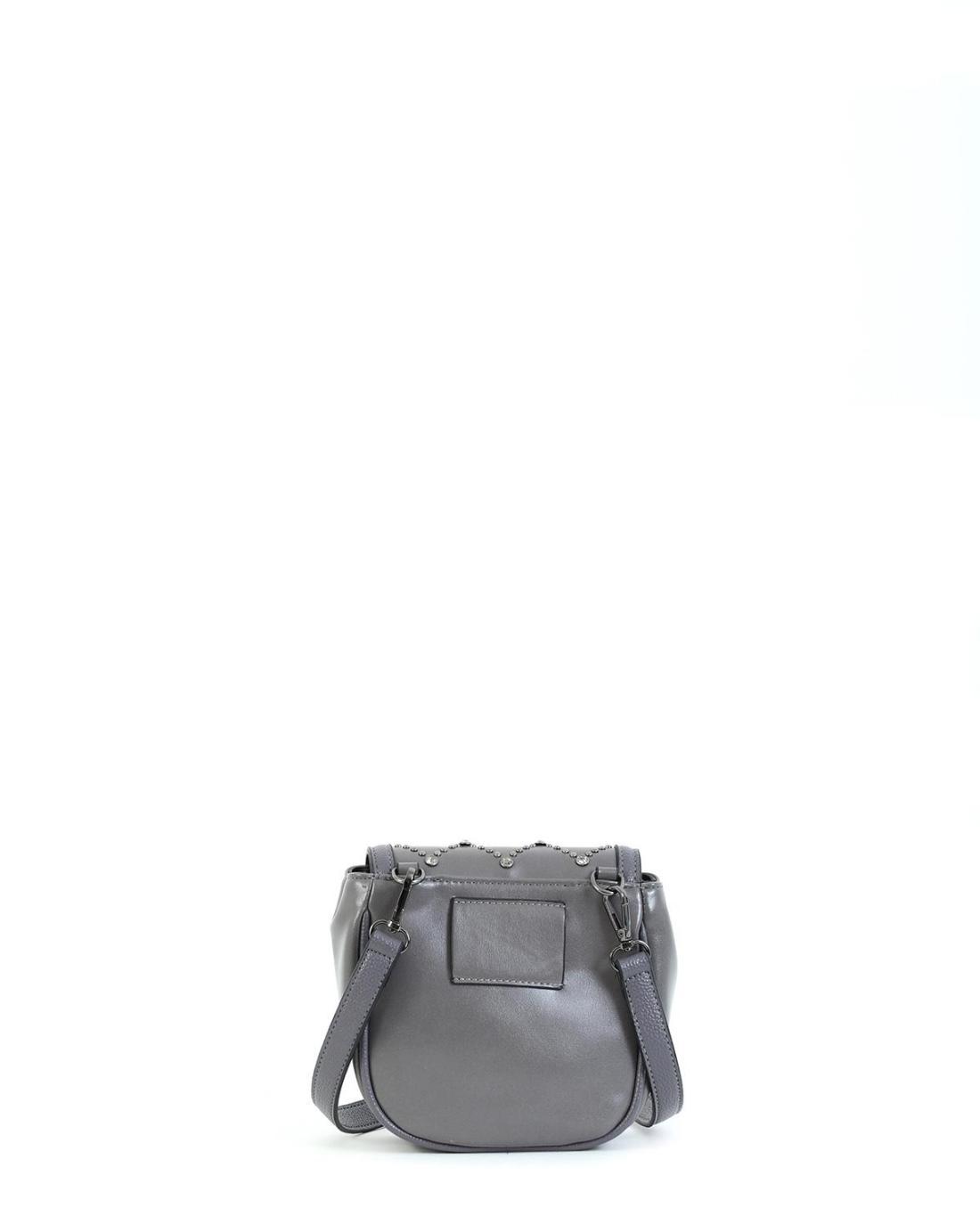 Τσάντα χιαστί/μέσης γκρι