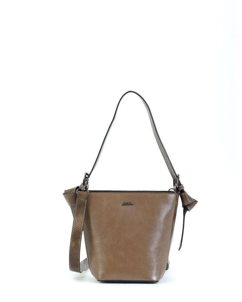 Khaki handbag