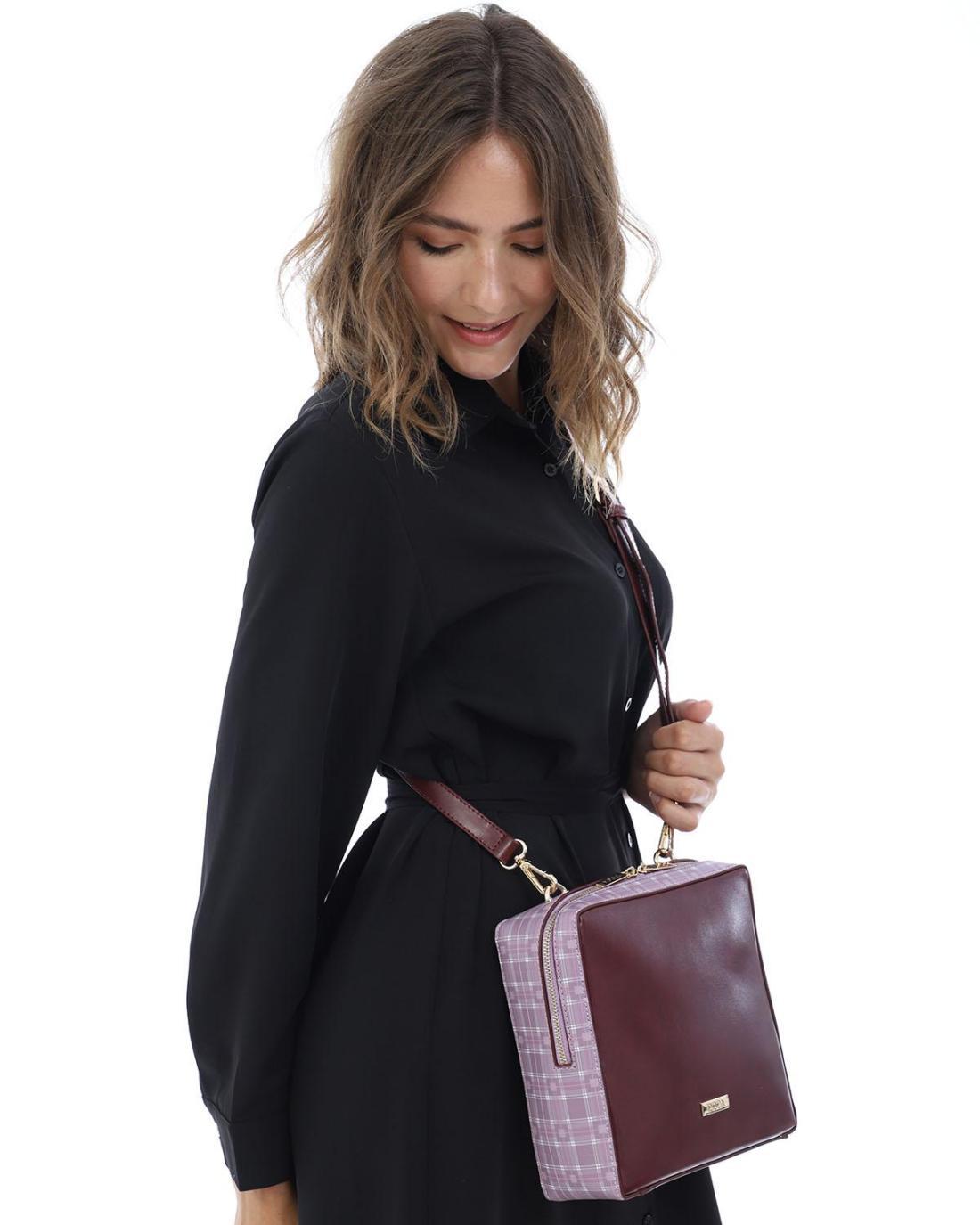 Bordeaux cross body bag