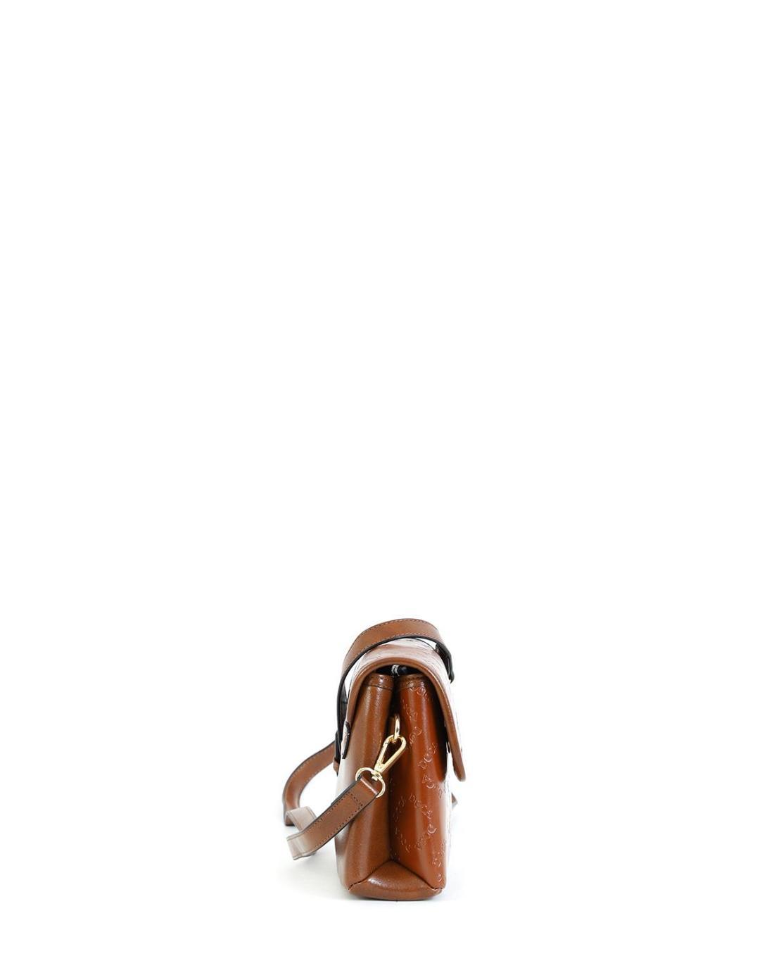 Camel cross body bag