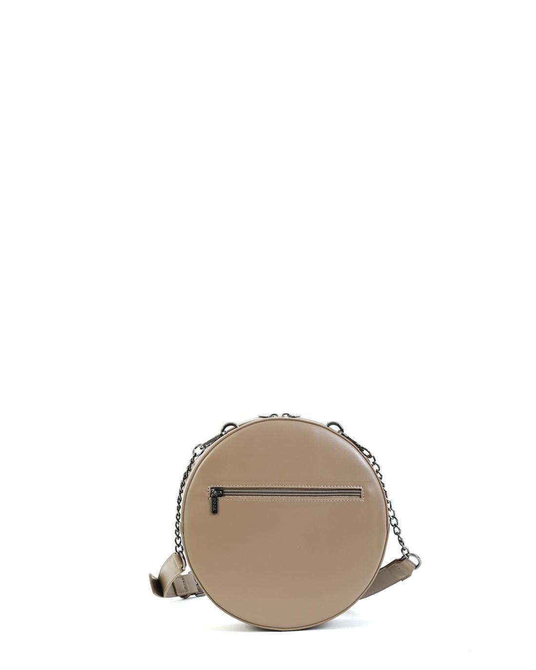 Grey cross body bag