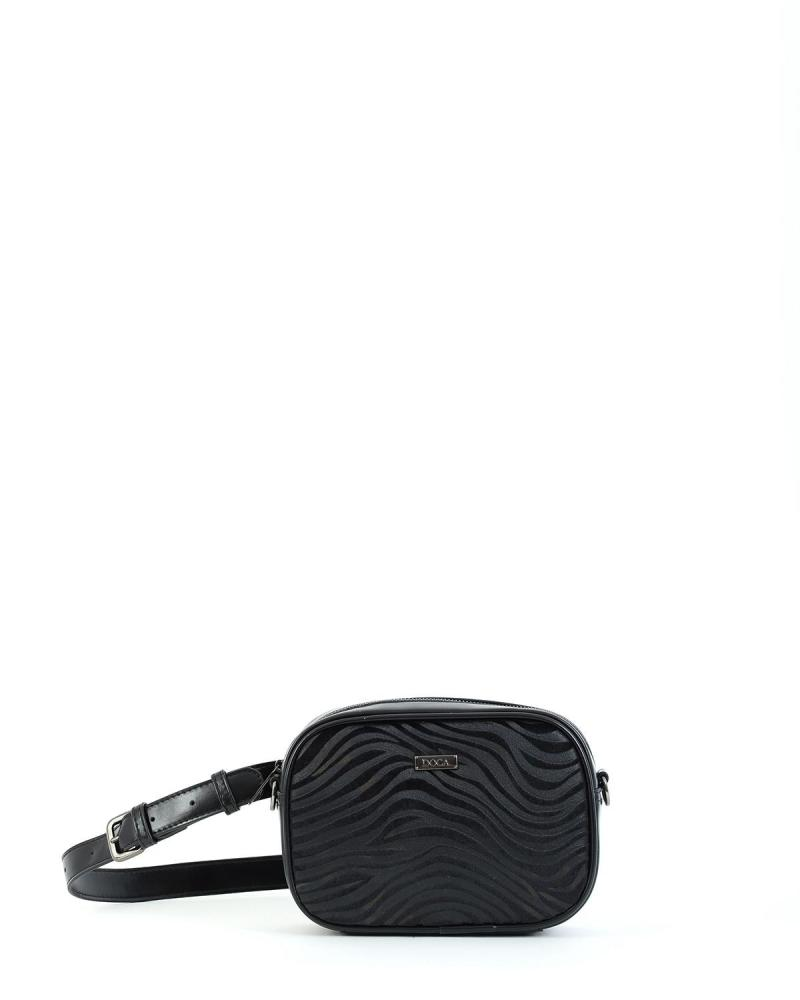 Black belt/cross body bag