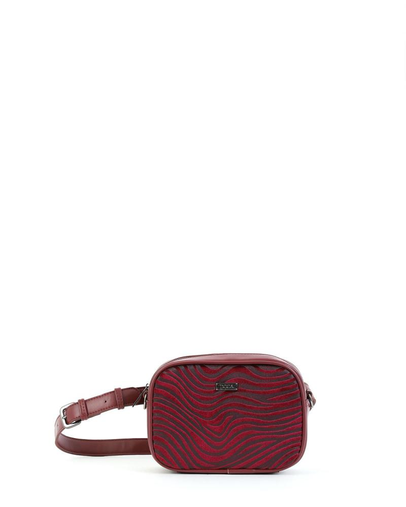 Bordeaux belt/cross body bag