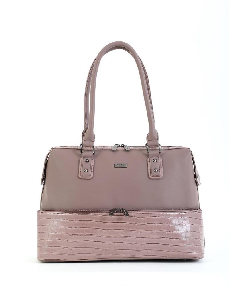 Καθημερινή τσάντα μωβ