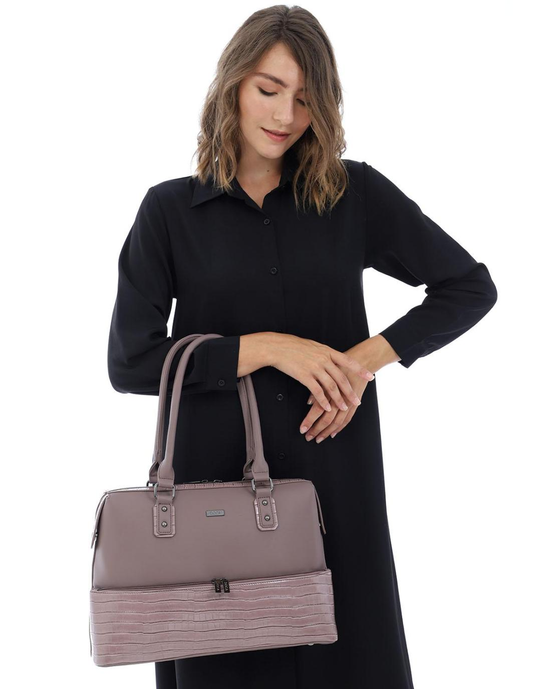 Καθημερινή τσάντα ροζ
