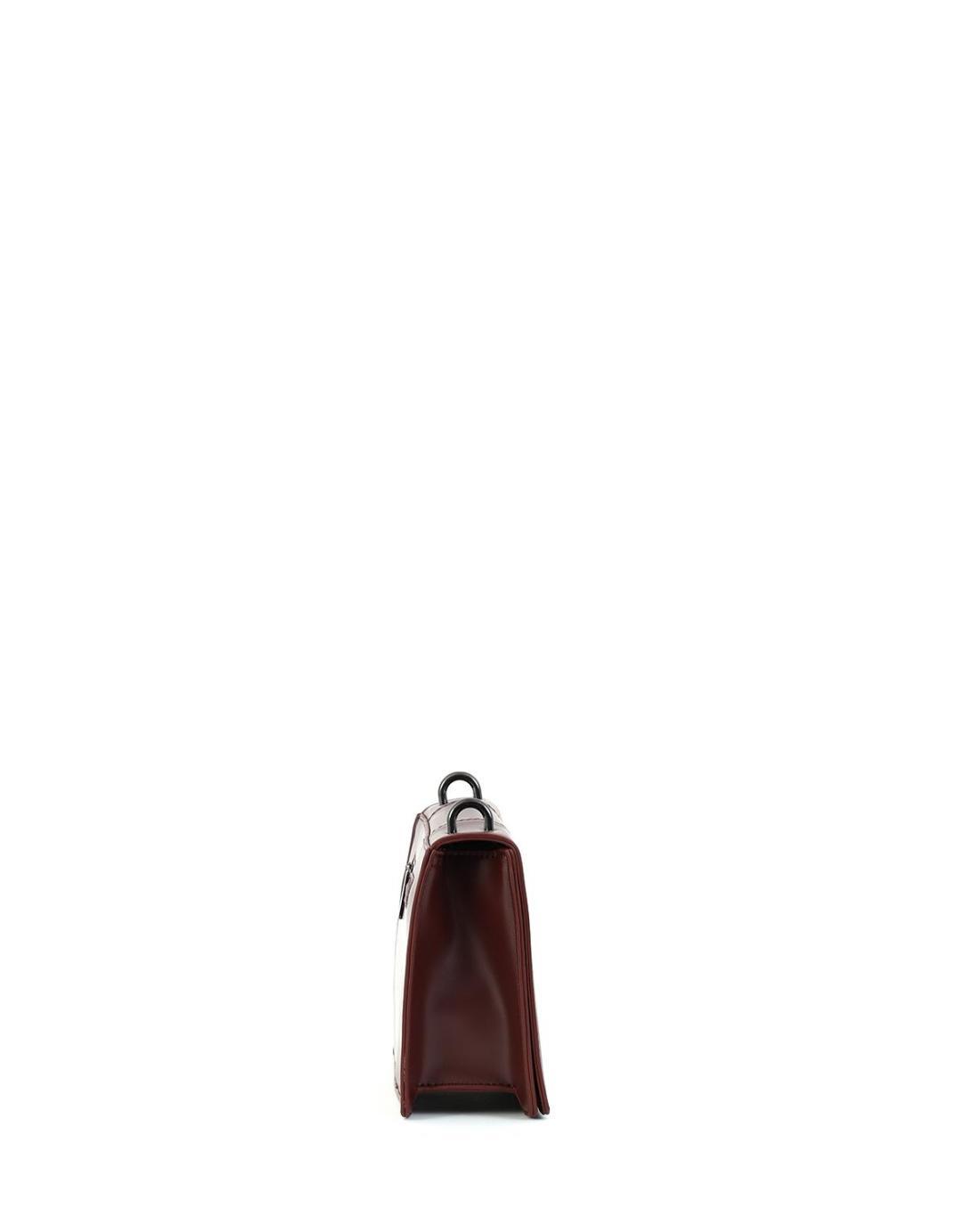Brown cross body bag