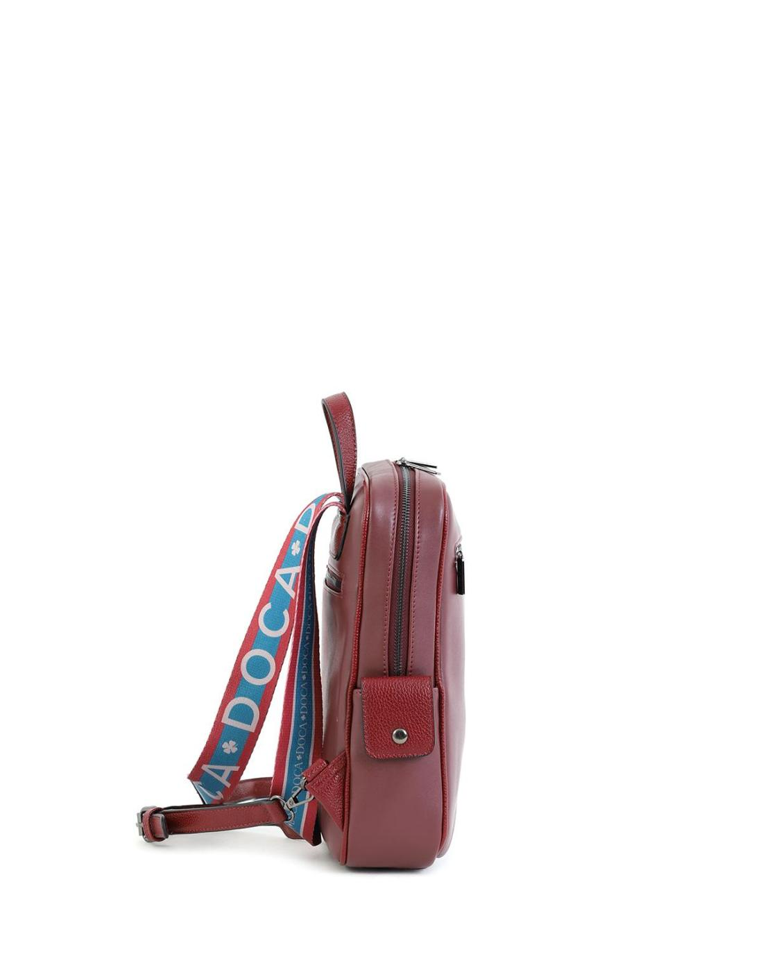 Τσάντα πλάτης μπορντώ