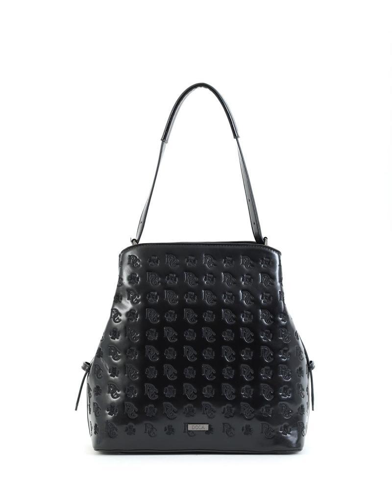 Καθημερινή τσάντα μαύρη