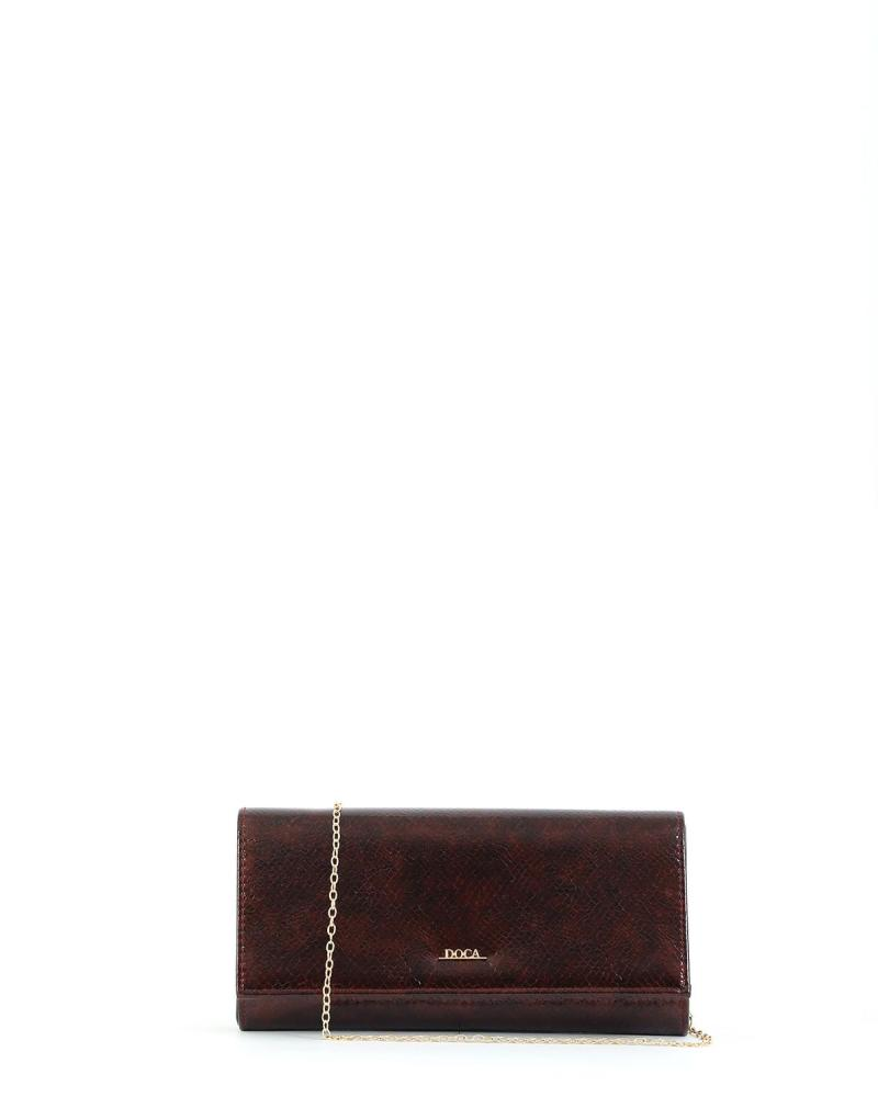Bordeaux envelope bag