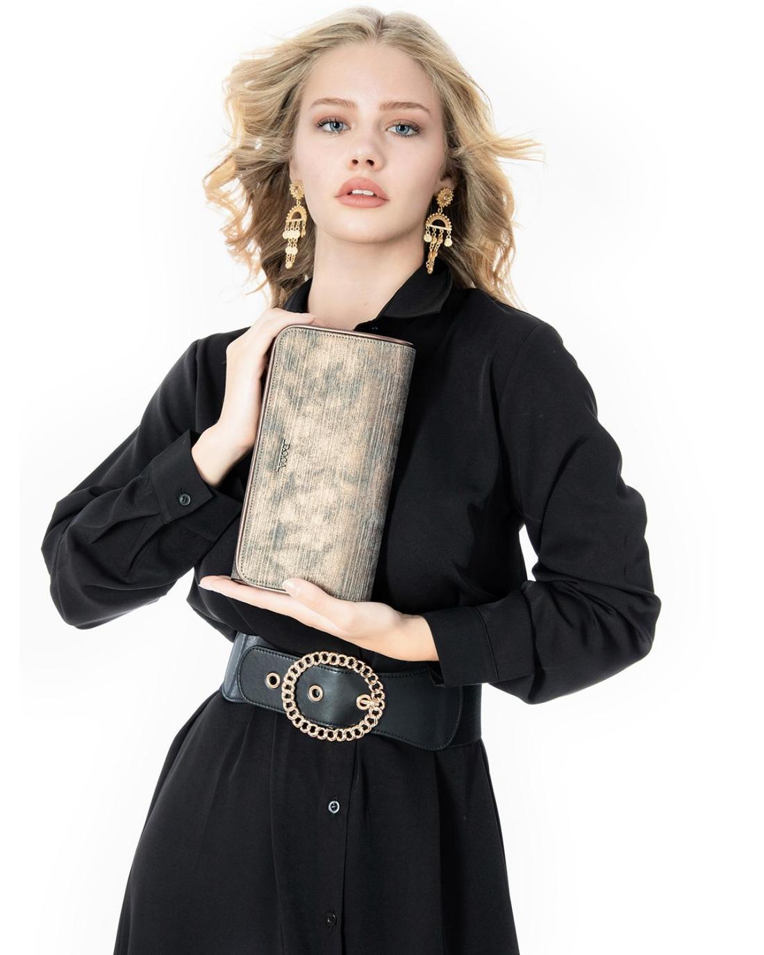Τσάντα φάκελος γκρι