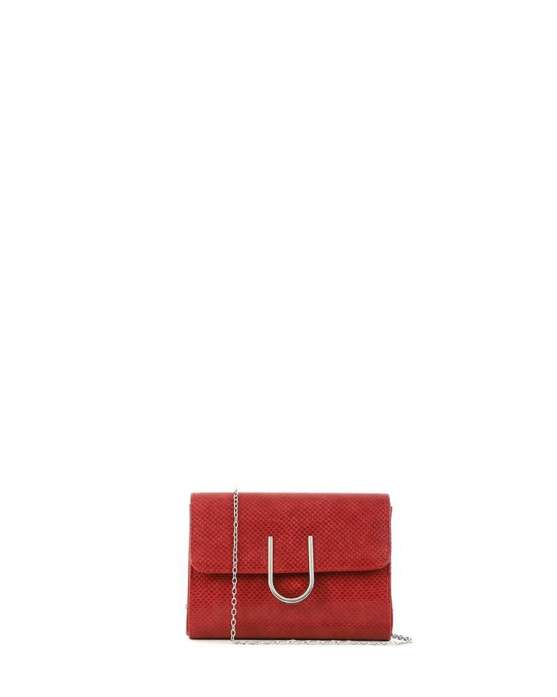Τσάντα φάκελος κόκκινη