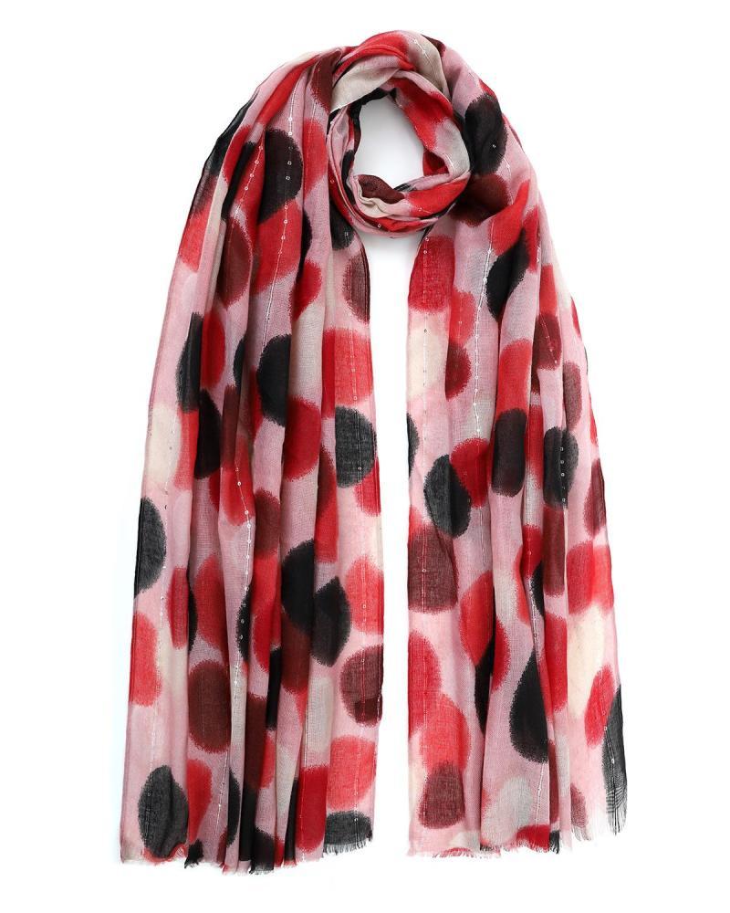 Multi color foulard