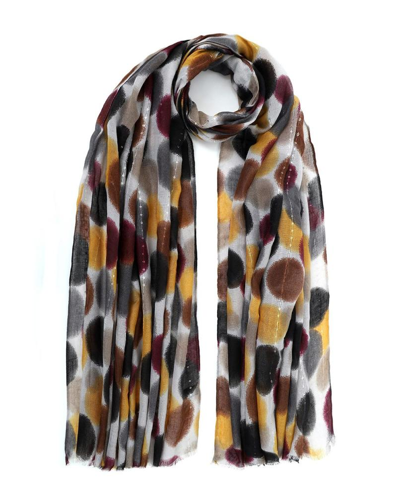Multi color foulard