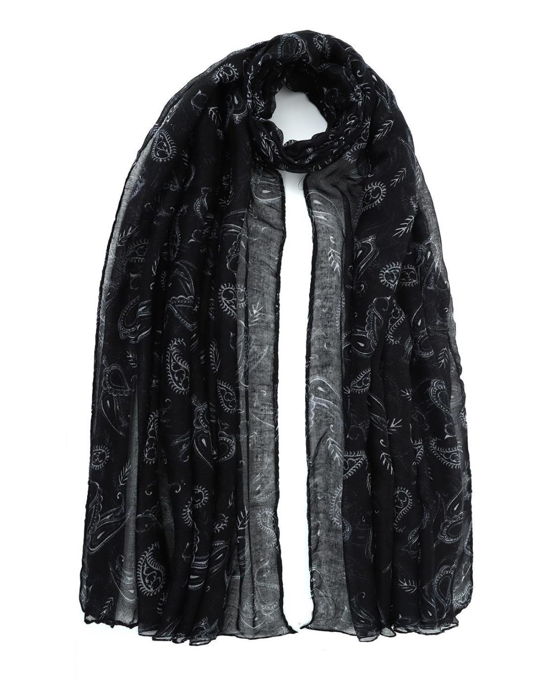 Foulard schwarz