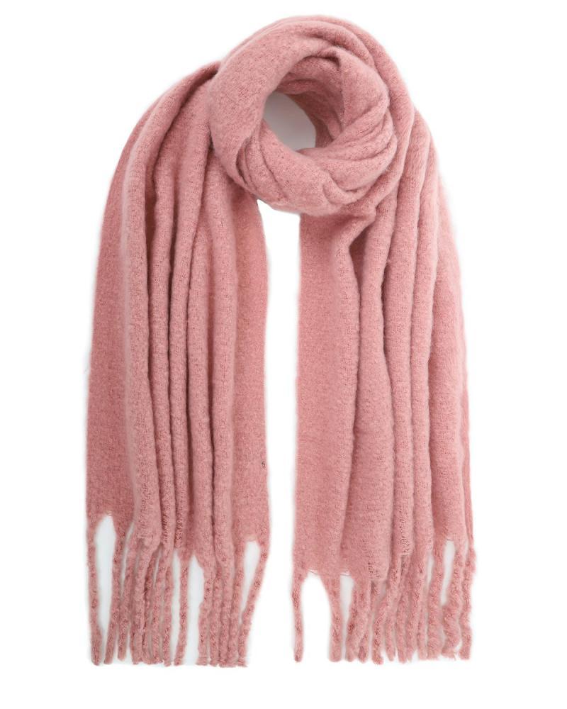 Κασκόλ-πασμίνα ροζ