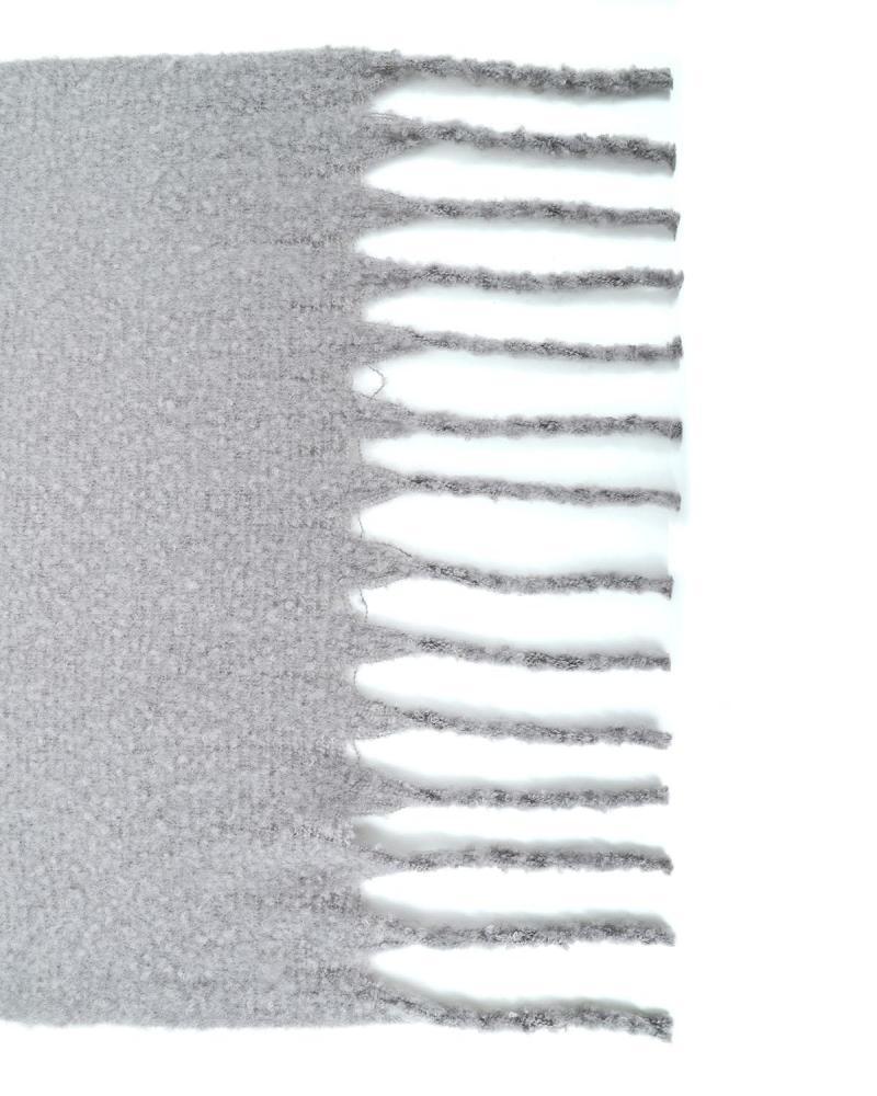 Grey pashmina-scarf