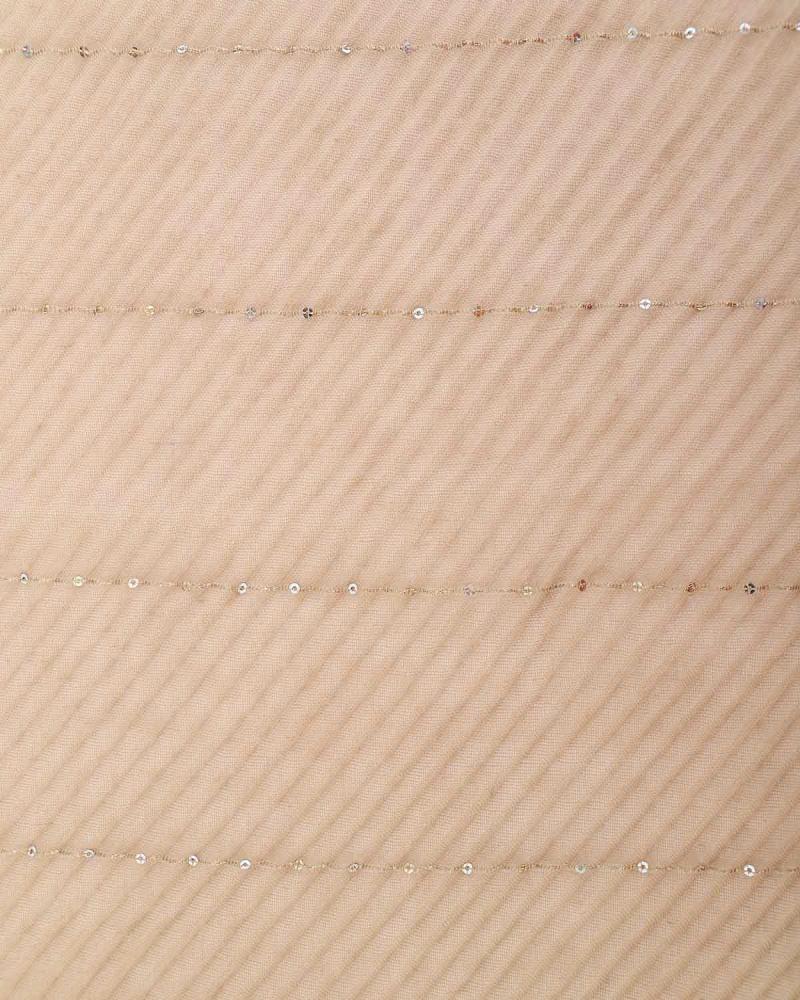 Beige foulard-stole