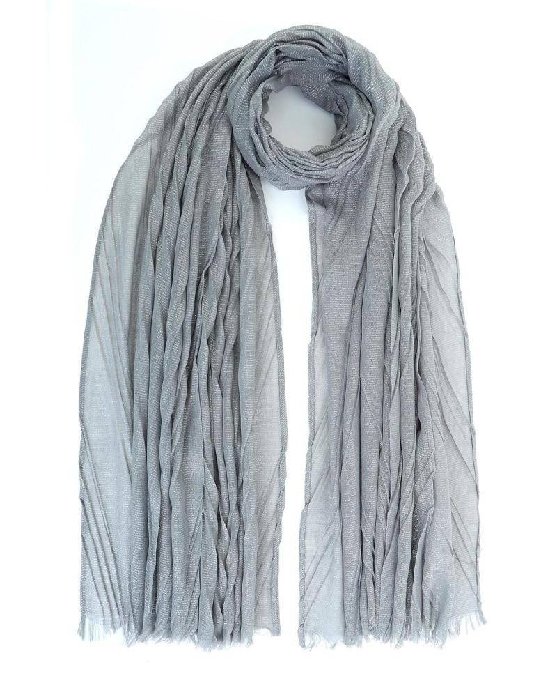 Grey foulard-stole