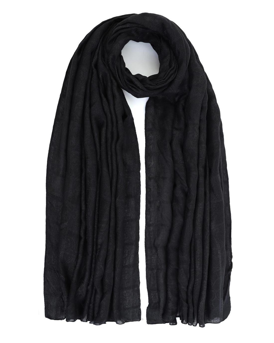 Foulard-Tücher schwarz