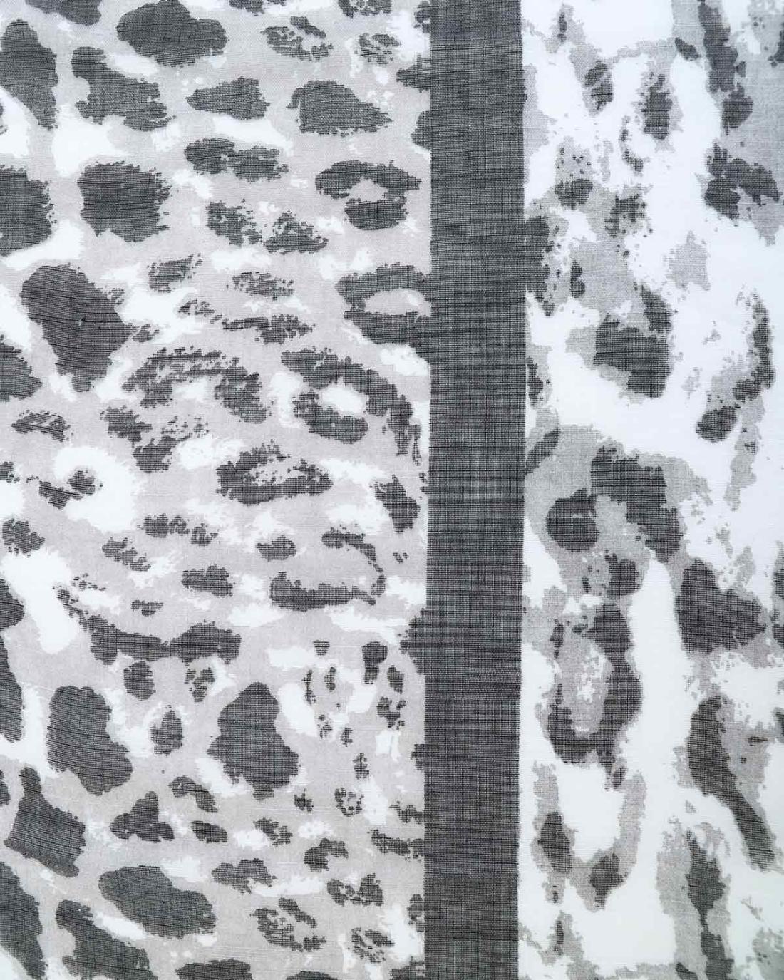 Foulard animal print