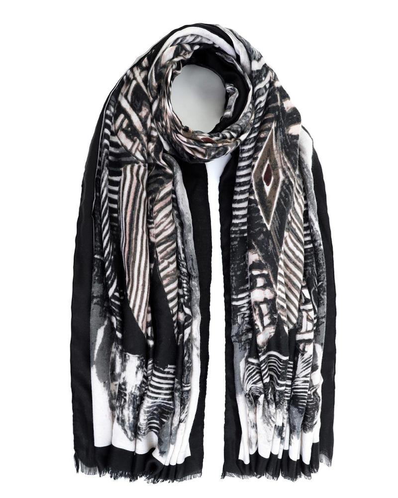 Black foulard