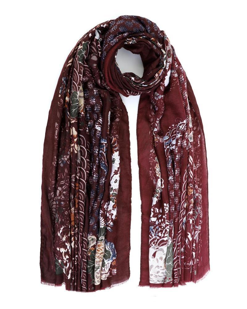 Bordeaux foulard