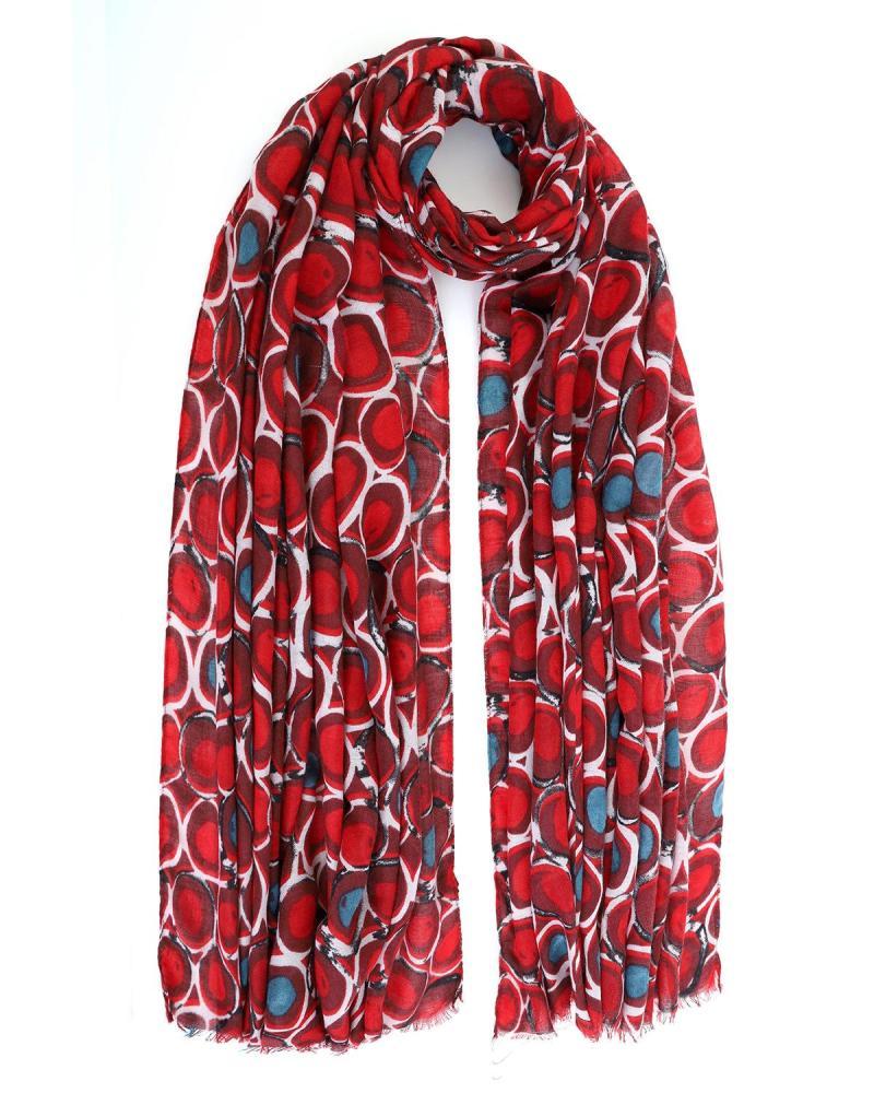 Red foulard