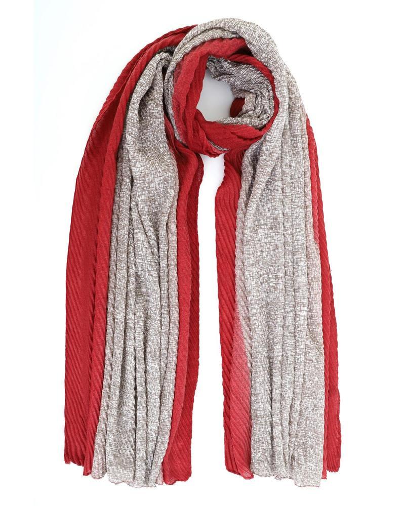 Bordeaux foulard-stole