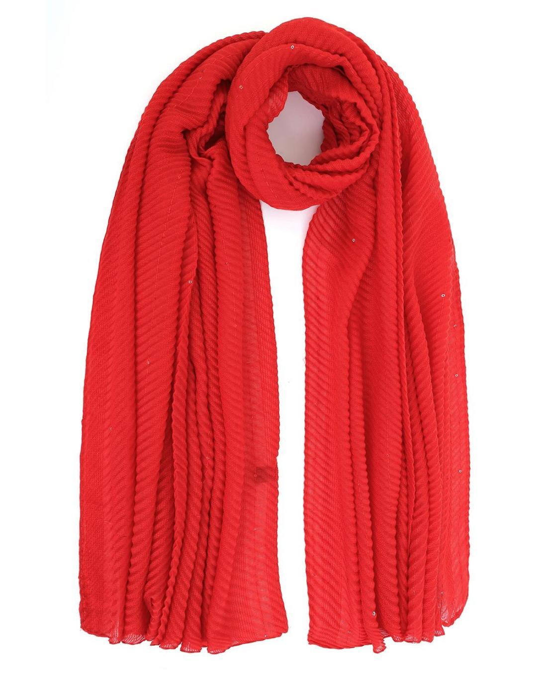 Foulard-Tücher rot