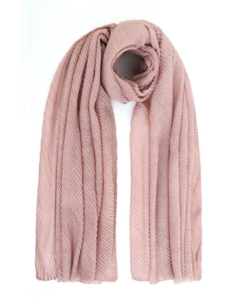 Pink foulard-stole