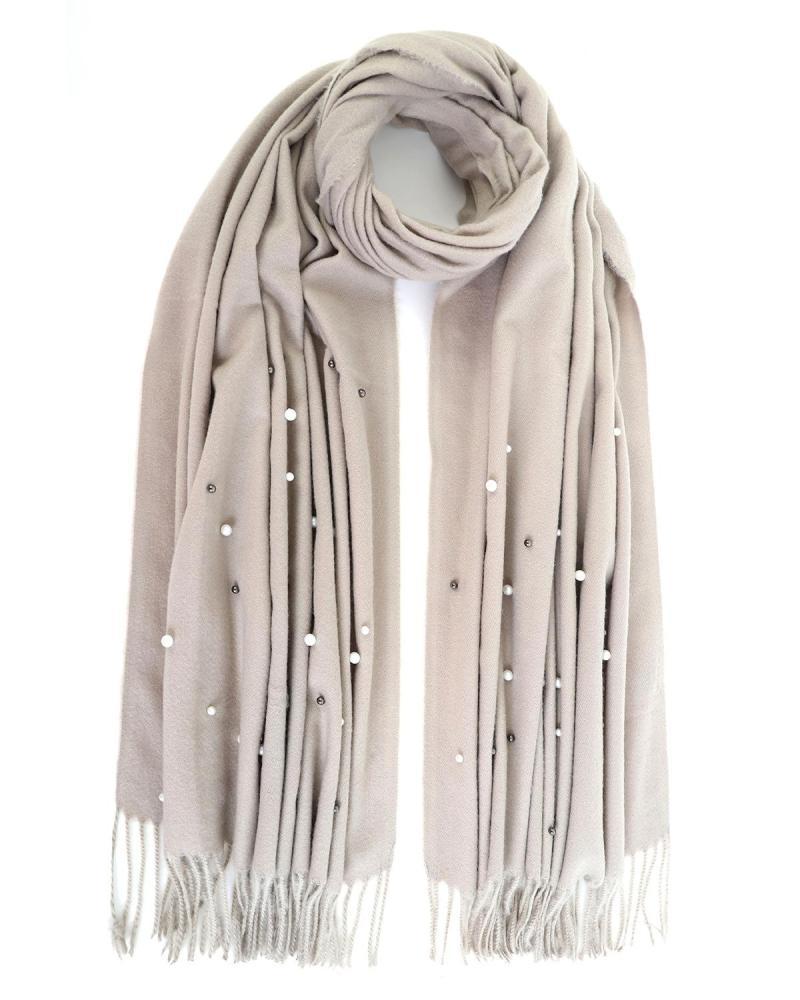 Pashmina-Schal beige
