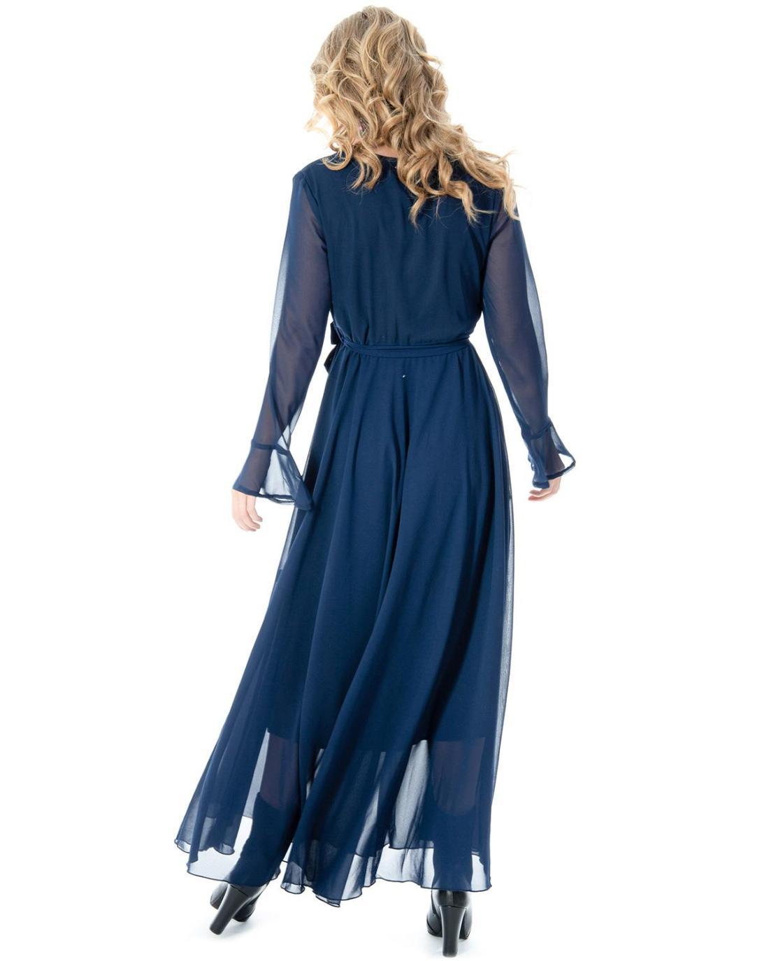 Kleide blau