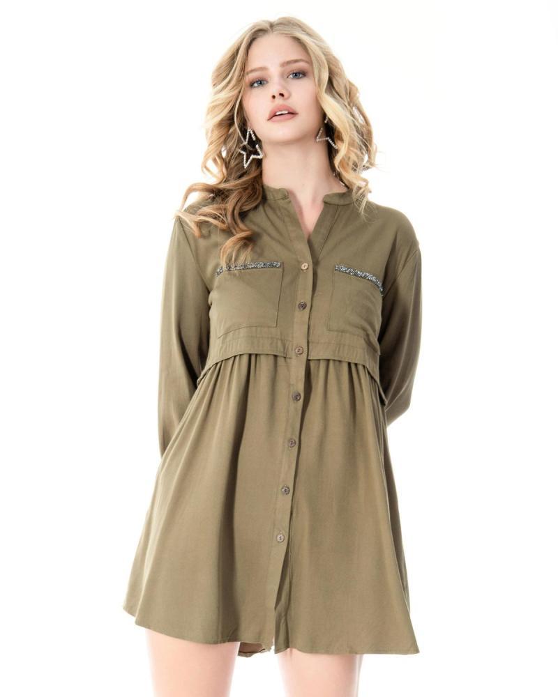 Φόρεμα πράσινο